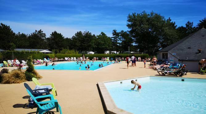 camping saint germain sur ay piscine